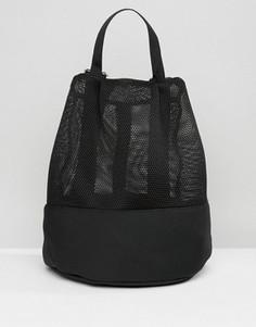 Рюкзак с сеточкой ASOS LIFESTYLE - Черный