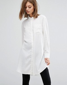 Рубашка в стиле туники Weekday - Белый