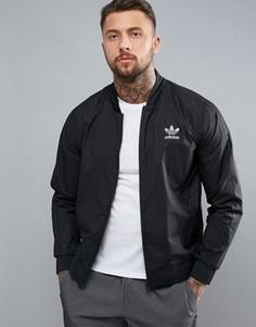 Куртка на молнии adidas Originals Superstar - Черный