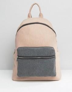 Трикотажный рюкзак колор блок ASOS LIFESTYLE - Мульти
