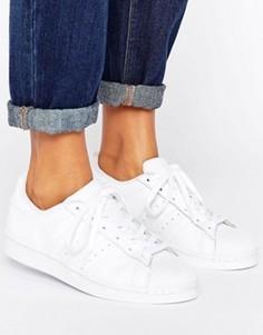 Белые кроссовки adidas Originals Foundation Superstar - Белый