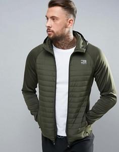 Стеганая куртка Jack & Jones - Зеленый