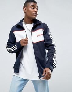 Синяя спортивная куртка adidas Originals London Pack Block BK7846 - Синий