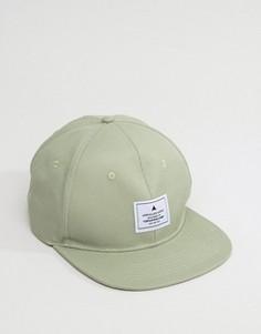Зеленая фактурная бейсболка ASOS - Зеленый