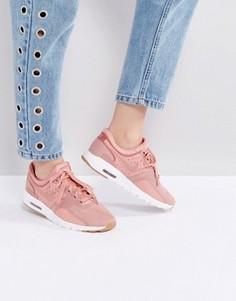 Темно-розовые кроссовки Nike Air Max Zero - Красный