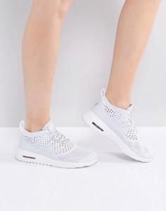 Кроссовки с вязаной отделкой Nike Air Max Thea Ultra - Серый