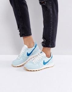 Синие кроссовки Nike Internationalist - Синий