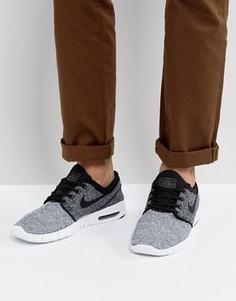 Серые кроссовки Nike SB Stefan Janoski Max 631303-102 - Серый