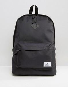 Черный рюкзак с нашивкой ASOS - Черный