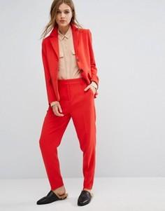 Комбинируемые брюки Selected - Красный