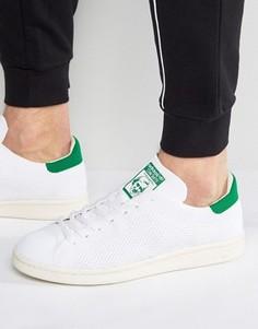 Белые кроссовки adidas Originals Stan Smith OG Primeknit S75146 - Белый