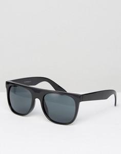 Черные солнцезащитные очки-маска 7X - Черный