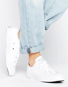 Кожаные кроссовки Converse Chuck Taylor All Star - Белый