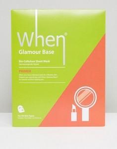 Разглаживающая маска-салфетка When Glamour Base - Бесцветный Beauty Extras