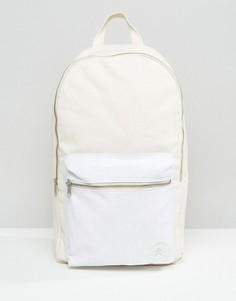 Бежевый парусиновый рюкзак Converse - Кремовый