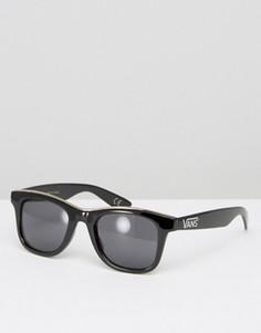 Черно-золотистые солнцезащитные очки Vans Breakwater - Черный