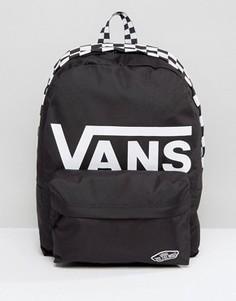 Черный рюкзак с логотипом Vans Realm - Черный