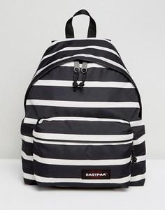 Темно-синий рюкзак в полоску с уплотнением Eastpak Pakr - Мульти
