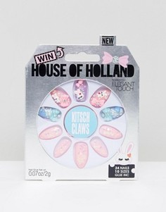 Накладные ногти House of Holland Luxe by Elegant Touch - Kitsch Claws - Мульти