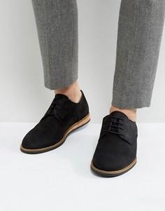 Туфли на шнуровке с пробковой подошвой Zign - Черный