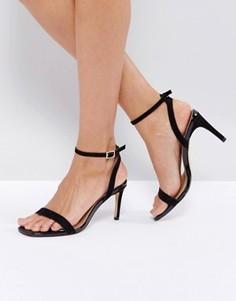 Сандалии на каблуке ASOS HIDEAWAY - Черный