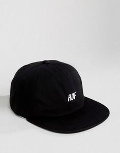 6‑панельная кепка с логотипом HUF - Черный