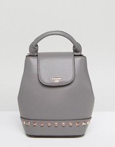 Маленький рюкзак с заклепками Dune - Серый
