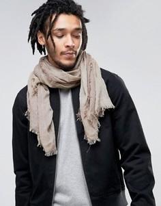 Светло-коричневый легкий шарф Esprit - Бежевый