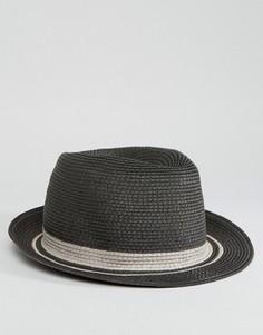 Соломенная шляпа Esprit - Серый