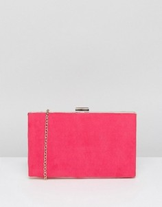 Яркий клатч-футляр New Look - Розовый