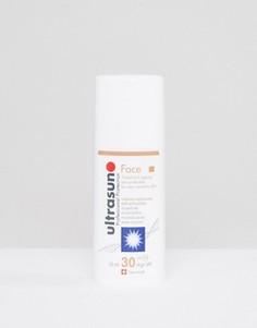 Пигментированное защищающее от солнца средство для очень чувствительной кожи лица Ultrasun SPF30 - 50 мл - Коричневый