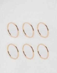 Наборные кольца в минималистском стиле ALDO - Золотой
