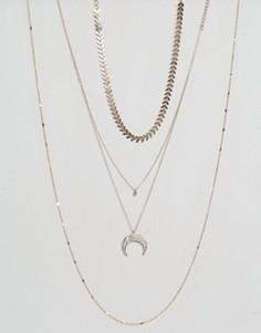 Многорядное ожерелье с луной ALDO - Золотой