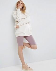 Короткие леггинсы ASOS Basic - Фиолетовый