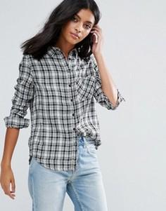 Рубашка в клетку Pepe Jeans Etoile - Белый