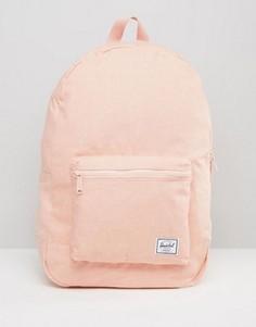 Абрикосовый хлопковый рюкзак Herschel Supply Co. - Розовый