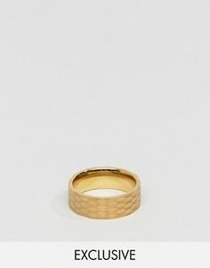 Золотистое кольцо Seven London - Золотой