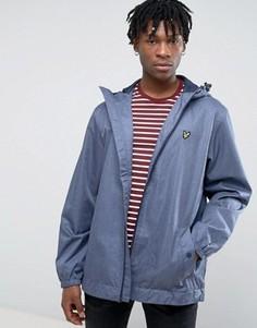 Куртка на молнии с капюшоном Lyle & Scott - Синий