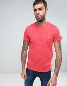Красная меланжевая футболка с логотипом Jack Wills Sandleford - Красный