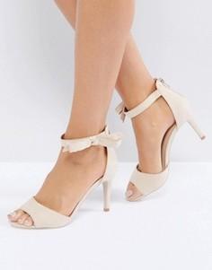 Туфли с ремешками и бантиками Coast Millie - Розовый
