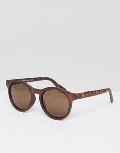 Круглые коричневые солнцезащитные очки A J Morgan - Коричневый
