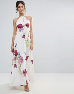 Платье макси Hope & Ivy - Фиолетовый