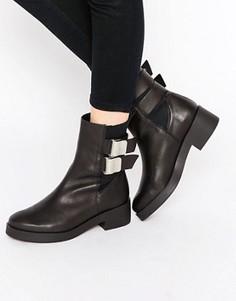 Ботинки с пряжками Miista Jodi - Черный