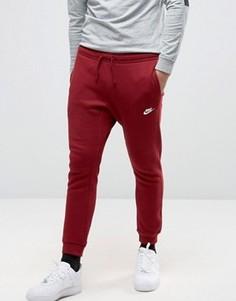 Красные джоггеры слим Nike 804408-677 - Красный