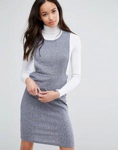 Трикотажное платье First & I - Синий