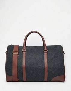 Темно-серая сумка ASOS - Серый