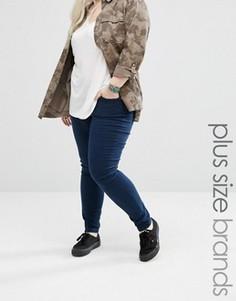 Зауженные джинсы Brave Soul Plus - Синий
