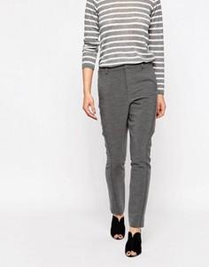 Серые брюки Ganni Moscow Tailor - Серый