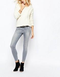 Ультраэластичные зауженные джинсы Pepe Jeans Lola - Серый