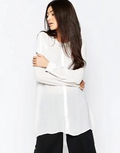 Длинная рубашка Ichi - Белый